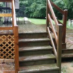 Wood Deck Needs Cleaning